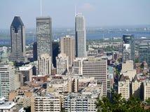 蒙特利尔街市地平线 免版税库存照片