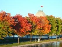蒙特利尔,加拿大旧港口  免版税图库摄影