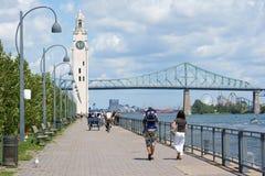 蒙特利尔,加拿大瞥见  免版税库存照片