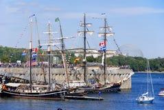 蒙特利尔经典小船节日 库存图片