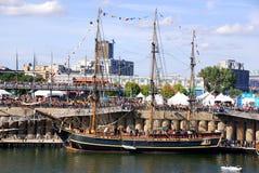蒙特利尔经典小船节日 免版税图库摄影
