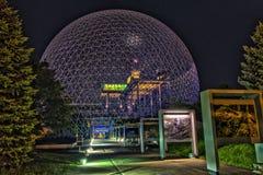 蒙特利尔Biosphère 免版税图库摄影