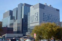 蒙特利尔hospitalier ` s的中心 图库摄影