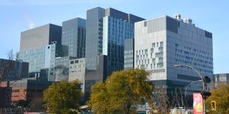 蒙特利尔hospitalier ` s的中心 免版税库存图片