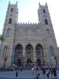 蒙特利尔Notre Dame大教堂  免版税图库摄影