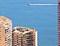 蒙特卡洛摩纳哥海 免版税库存图片