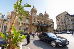 蒙特卡洛,摩纳哥,赌博娱乐场蒙特卡洛, 25 09 2008年:赌博娱乐场蒙特卡洛 库存图片