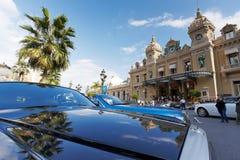 蒙特卡洛,摩纳哥,赌博娱乐场蒙特卡洛, 25 09 2008年 免版税库存照片