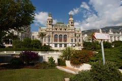 蒙特卡洛,摩纳哥,赌博娱乐场蒙特卡洛, 25 09 2008年 库存照片
