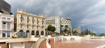 蒙特卡洛,摩纳哥, 25 09 2008年:赌博娱乐场蒙特卡洛,旅馆de巴黎 免版税图库摄影