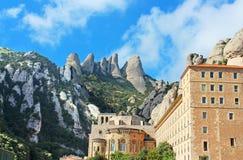 蒙特塞拉特修道院是一个美丽的本尼迪克特的修道院 图库摄影