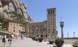 蒙特塞拉特修道院 库存图片