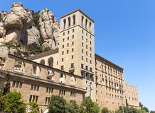 蒙特塞拉特修道院 免版税图库摄影