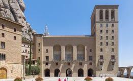 蒙特塞拉特修道院 库存照片