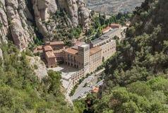 蒙特塞拉特修道院 免版税库存图片