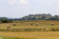 蒙特里久尼,意大利,托斯卡纳 免版税库存照片