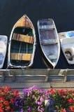 蒙特里加利福尼亚小游艇船坞 免版税库存照片