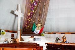 蒙特雷,新莱昂州/MEICO - 01 02 2017年:大教堂de瓜达卢佩河 库存照片