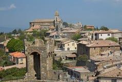 蒙达奇诺 (托斯卡纳,意大利) 免版税库存图片
