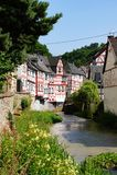蒙雷阿尔-多数美丽的镇在莱茵河流域巴列丁奈特 库存图片