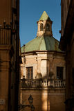 蒙雷阿莱意大利- 2009年10月13日:建造的蒙雷阿莱大教堂 库存照片