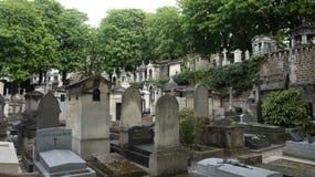 蒙马特公墓,巴黎,法国 免版税图库摄影