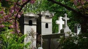蒙马特公墓,巴黎,法国 免版税库存图片