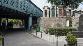 蒙马特公墓,巴黎,法国 库存图片