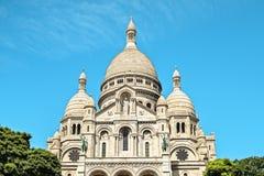 蒙马特大教堂巴黎 库存图片