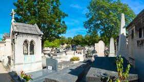 蒙巴纳斯公墓 免版税库存图片