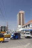 蒙巴萨商业区,肯尼亚,社论 库存照片