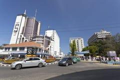 蒙巴萨商业区,肯尼亚,社论 图库摄影
