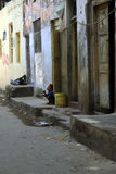 蒙巴萨老城镇 免版税库存照片