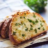 蒜味面包 库存图片