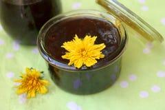 蒲公英花蜂蜜  库存图片