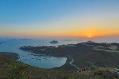 蒲台岛O在早晨 图库摄影