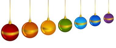 蒴圣诞节装饰 向量例证