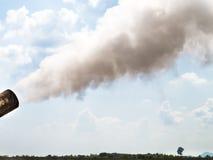 蒸汽吹 图库摄影