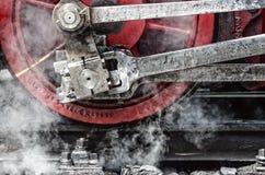 蒸汽和铁 免版税库存图片