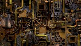 蒸汽废物工厂 影视素材