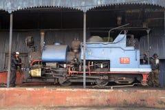蒸汽引擎。 免版税库存图片