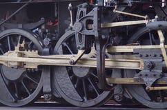 蒸汽引擎轮子 免版税库存图片