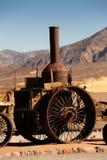 蒸汽引擎,死亡谷加利福尼亚 库存照片