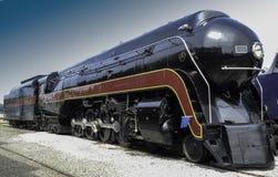 蒸汽引擎-为时它是亲切的 免版税库存照片