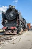 蒸汽引擎活动ER类型Eh2在Voroshilovgrad, Brjanksk, 305个单位builded 1934-1936,被显示在AvtoVAZ技术M 免版税图库摄影