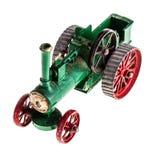蒸汽拖拉机模型 免版税库存图片