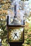 蒸汽时钟 库存图片