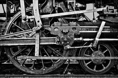 蒸汽机器的力量 库存照片