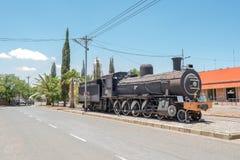 蒸汽机车在Fauresmith 库存图片
