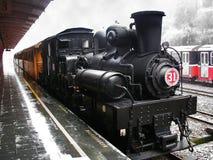 蒸汽机车阿里山森林铁路 图库摄影